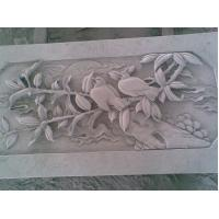 Wholesale Stone Relief Carving of Bird and Flower from china suppliers