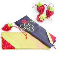 Wholesale strawberry nylon shopping bag from china suppliers
