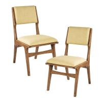 Wholesale Tight Back Upholstered Dining Chairs , Wooden Cream Upholstered Kitchen Chairs from china suppliers