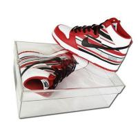 Wholesale transparent acrylic shoe display box,acrylic shoe display box from china suppliers