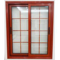 Quality Interior Aluminum Sliding Double Tempered Glass Window for sale