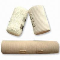Wholesale Elastic Bandage for Medical and Daily Use, Available in Bleached White from china suppliers