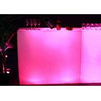 Wholesale Waterproof Light Up Bar Table Led , Muti Colors Changing Illuminated Bar Table from china suppliers