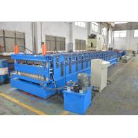 Wholesale 16 -18 Station Free Design Double Layer Roll Former Machine 5 Ton Passive Decoiler from china suppliers