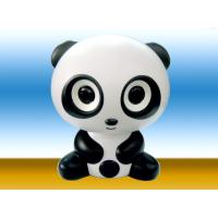 Wholesale Black Cool Panda 50Hz - 20kHz 600mV Pure ABS Portable Bluetooth Stereo Speaker (RS-BTS P2) from china suppliers