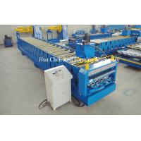 Wholesale High Speed 18 Row Double Layer Roll Forming Machine 380V 50Hz 3 Phase from china suppliers