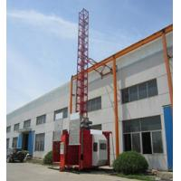 Wholesale 0-60m/min Lifting Speed Construction Hoist With Loading 2800kg , Electric Ladder Lift from china suppliers