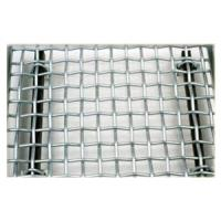 Wholesale Black, White Iron Galvanized Stainless steel Square Crimped Wire Mesh from china suppliers