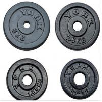 Wholesale cast iron dia25mm solid painting plates for weight dumbbells from china suppliers