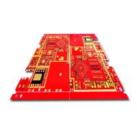 Quality Blue Solder Mask Prototype Printed Circuit Boards , Low volume PCB 4 Layer for sale