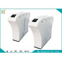 Wholesale Luxury High Security IR Sensor Flap Barrier Gate Security Entrance Turnstiles from china suppliers