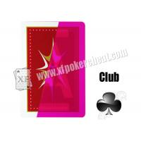 Wholesale Gamble Cheat Taiwan Rocket Invisible Playing Cards Plastic Marked from china suppliers