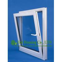 Wholesale Top hung Upvc Windows For House, White Color Vinyl Awning Windows manufacturer China from china suppliers