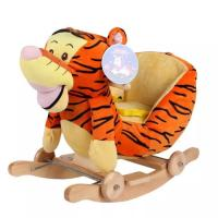 Wholesale Cute Brown Cute Baby Toys Tiger Plush Baby Rocking Animal Chair from china suppliers