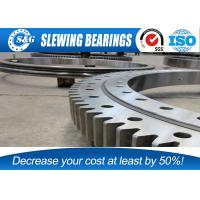 Wholesale Heavy Load Carrying Capacity Crane Slewing Bearing With Bear Radial And Axial Force from china suppliers