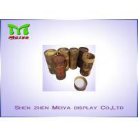 Quality Damp proof art paper custom cardboard displays tube boxes for tea for sale