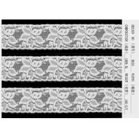 China Underwear Lingerie Lace Fabric Embroidery Lace Trim Customized on sale