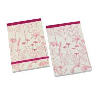 Wholesale Beautiful flower image soft paper cover A4, A4+, A5, A5+, A6 Personalised Notepad from china suppliers