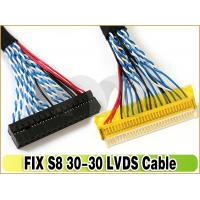 Buy cheap LVDS Cable FIX-30P-S8 1.0mm Pitch 30-Pins Dual 8-bit for LCD Controller to Panel from wholesalers