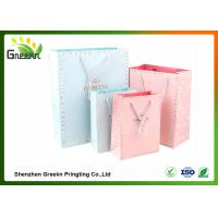 Quality Fashionable Coated Printed Paper Gift Bags with Different Sizes for Customization for sale