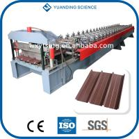 Quality YTSING-YD-00080 Passed CE and ISO Roof and Wall Panel Roll Forming Machine for sale