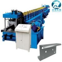Wholesale Hydraulic cutting Galvanized Steel C U Z Channel Roll Forming Machine for 3mm from china suppliers