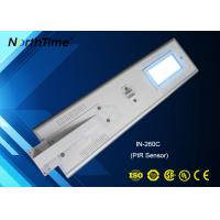 Wholesale Infrared Motion Sensor LED Solar Street Lights , Solar Panel Outdoor Lights from china suppliers