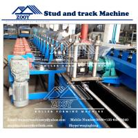 Wholesale High Speed CD&UD Stud Roll Forming Machine 0.5mm - 1.5mm Galvanized Steel from china suppliers