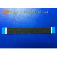 Wholesale 24 Pin Flexible Shielded Flat Ribbon Cable With Black Tape / Copper Foil from china suppliers