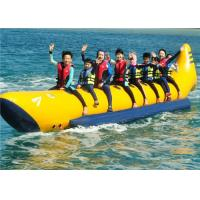 Wholesale Customize 0.9MM PVC Inflatable Boat Toys Towable Flyfish For 4/6 Person Use from china suppliers