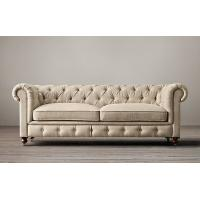 Wholesale Kiln - dried hardwood frame fabric reclining sofas with 2 / 3 seat cushions from china suppliers