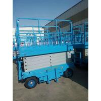 Buy cheap High Safety Hydraulic AC DC Mobile Scissor Lift With Load Capacity 500kg from wholesalers