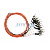 Wholesale Multimode ST UPC Fiber Pigtail for Fiber Patch Panel and Fiber Adapter from china suppliers