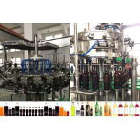 Wholesale Round / Rectangular Bottle Carbonated Drink Filling Machine 2000 - 3000 BPH from china suppliers