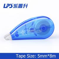 Buy cheap Flexible and smooth Mini Correction Tape Roller Blue Color 5mm*8m from wholesalers