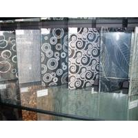 Wholesale High Strength Tempered Silk Screen Glass Wall For Shower Room 5mm , 6mm , 8mm from china suppliers
