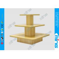 Wholesale Melamine 3 Layers Floor Display Table Wood Tailor's Shop from china suppliers