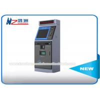 """Wholesale Outdoor Parking Lot Bill Payment Kiosk With RFID Card Reader 15"""" Floor Standing from china suppliers"""