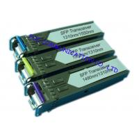 Wholesale Bi - Di Gigabit Ethernet Transceiver , Small Form-Factor Pluggable Optical Transceiver from china suppliers