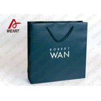Wholesale Soft Touch Film Strong Custom Printed Paper Bags No Minimum Silk Screen Printing from china suppliers