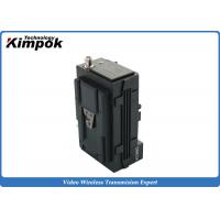 Wholesale 720P COFDM Transmitter , 5W Rain - Proof  Wireless Video Link with Bank Pack from china suppliers