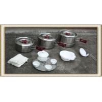 Wholesale Stainless Steel Camping Cookware Set (CL2C-DT05) from china suppliers