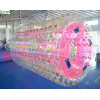 Wholesale 2.6 - 3.0 Diameters Inflatable Zorb Balls TPU / PVC Inflatable Water Roller Ball from china suppliers