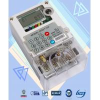 Wholesale Two Way Communication Single Phase Watt Hour Meter Polycarbonate Build - In GPRS from china suppliers