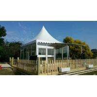 Quality Glass Marquee Prefab Resort House Hotel Outdoor Camping Tents Luxury 5m * 5m for sale