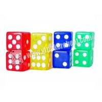Wholesale 16mm Non Transparent Plastic Square Gambling Cheating Devices Remote Control Dice from china suppliers