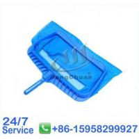 Wholesale Spring Clip Handle Nylon Net Swimming Pool Leaf Rake For Cleaning - T55E from china suppliers