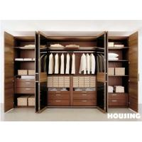 Wholesale Walk-in Wardrobe Storage Cabinet with Solid Wood / Timber Veneer from china suppliers