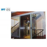 Wholesale Vibration Proof Residential Home Elevators Machine Room Less Traction Type Max Travel 12M from china suppliers