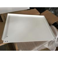 Wholesale White powder coating panel with tapping and bending for the outdoor light box from china suppliers